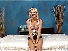 babe blondin massage