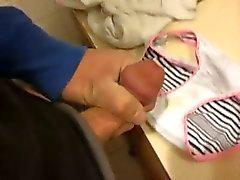 Loving her panties