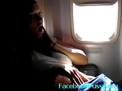 onani offentlig flygplan