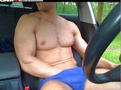 kaveri lihasnapsaus lihaksikkaat laskimot sopivat kunto mies malli elää webcam-lihaksia kaveri horny cruising fetissi kink julkinen lihas