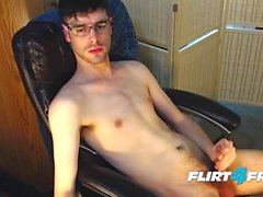 Aalexx Plays With His Ass and Deep Throats a Dildo