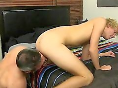 Hot gay scene Beefy Brock Landon might be straight, but when