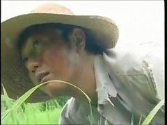 asiatico hardcore giapponese all'aperto
