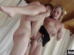 anal arsch big cocks blondine