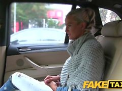 Fake Taxi Married lady sucks and fucks driver