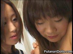 Futanari Coeds Locker Room Sex!