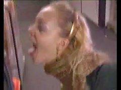 Annette Drinks Pee in an Industrial Warehouse