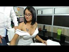 amateur big boobs brünett
