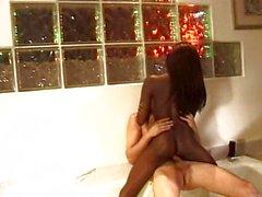 sexo anal de pelo negro mamada pareja