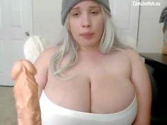 masturbación adolescente grandes tetas amateur cámara web