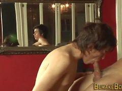 abspritzen blowjob masturbation