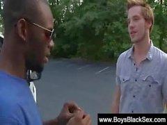 Blacks Thugs Breaking Down Sissy White Boys Hard 05