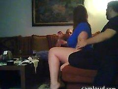 Webcam MILF blowjob party