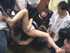 amatööri aasialainen suihin