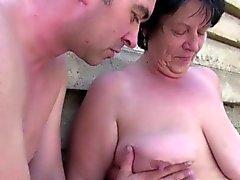 bbw big boobs blowjob brünett deutsch