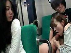 amateur asiatique pipe soin du visage sexe en groupe