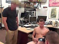 Pawnshop newbie being dicksucked