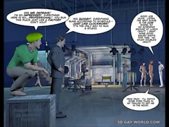 3D Gay World Pictures Funny Cartoon Anime Comics about the Biggest Gay Movie Studio