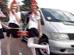 babe dildo flickor i uniform ryska sasha blonde