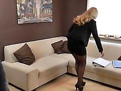 blondine abspritzen doggystyle
