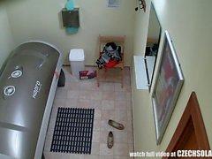 dilettante ceco telecamera nascosta