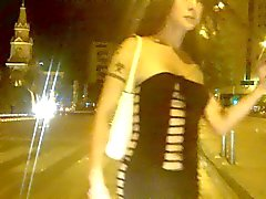Nikki Ladyboys begging for money on the streets