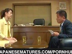 japanesematures velho escritório e a felação hot- madura