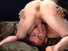 Calvin Koons and Evan Mercy suck each others rock hard cocks