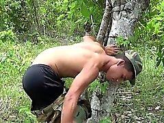 gays lésbicas gays latino alegre militar gay exterior