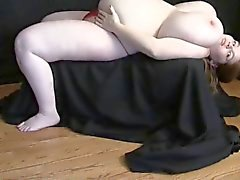 Pregnant BBW with giant tits