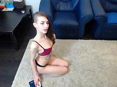 Laylas handjob brunette homemade handjob