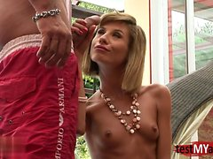 Russian pornstar hardcore anal with facial