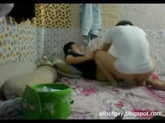 Teacher Binh Duong university lust with his student p.3