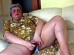 bbw morena avó lésbica jovens de idade