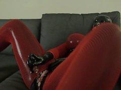 masturbation gros seins latex