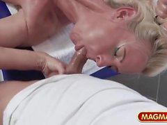 созревает массаж немецкий