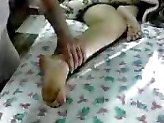 femdom fetichismo del pie egipcio trabajando con el pie