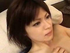 amateur asiático peludo