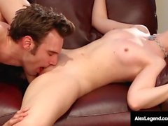 French Star Alex Legend Pussy Pounds Young Samantha Rone!