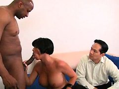 peitos grandes corno hardcore interracial