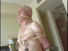 麻縄の男 【japanese oldman slave】