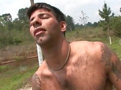 outdoor hunk solo