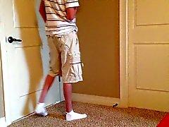 Strip tease (teen boy)