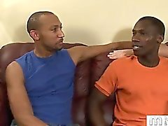 All the way from East Africa, Karibu traveled halfway across the world for scholarly pursuits. 'You can't work all of the time though' he told us just before we offered to help him unwind with a carnal cock-tale. Hope Karibu brought his appetite because a