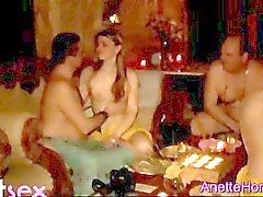 sexo en grupo cámara web francés grupo