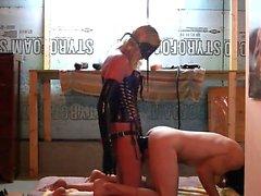 amatör blondin femdom fetisch