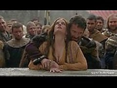 Eva Green - Naked in Public/woods - Camelot S01E02 celeb