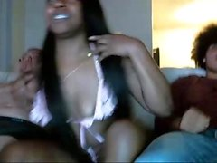 Black Girls Ebony Sex Threesome