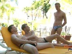 grandes cock grupo de tres descubierta del sexo gran polla homosexual