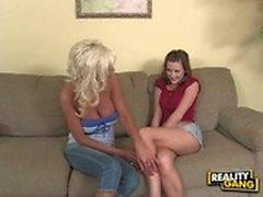 a menina - com garotas velho adolescente